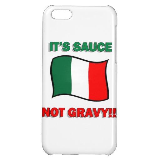 It's Gravy not sauce funny Italian Italy pizza tom iPhone 5C Covers