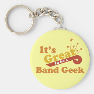 It's Great to Be a Band Geek Key Ring