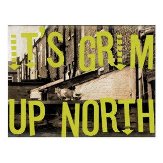 It's Grim Up North Postcard