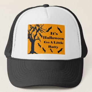 It's Halloween - Go a Little Batty! Trucker Hat