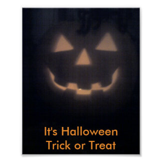 It's Halloween  Trick or Treat Poster