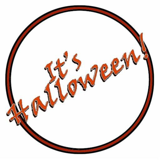 It's Halloween Viner Text Design Cut Out