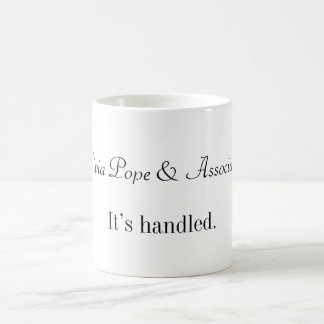 It's Handled Coffee Mug