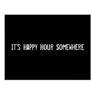 It's Happy Hour Somewhere Postcard