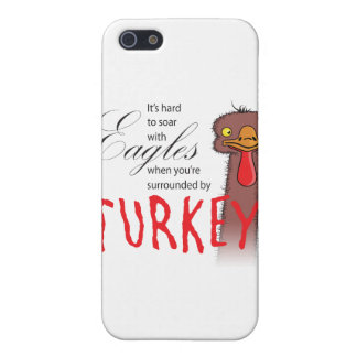 It's Hard To Soar With Eagles... iPhone 5 Case