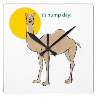 It's hump day! wall clock