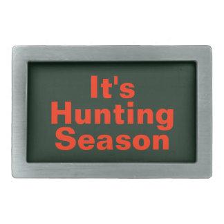 It's Hunting Season Belt Buckle