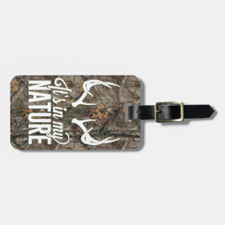 It's in my Nature Luggage Tag
