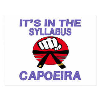 It's in the syllabus Capoeira. Postcard