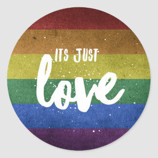 Its just Love - stickers