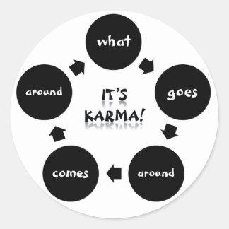 It's Karma! Stickers
