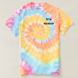 Its keiran spiral tye-die t-shirt