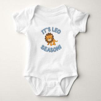 Its Leo Season! Baby Bodysuit (Blue)