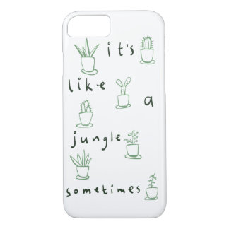 It's like a jungle sometimes iPhone 7 case