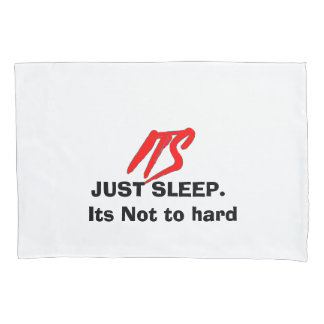 Its Logo (Red and Funny) | Pillow Case