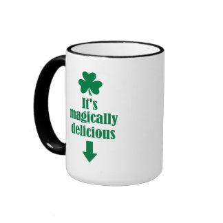 It's magically delicious shamrock mug