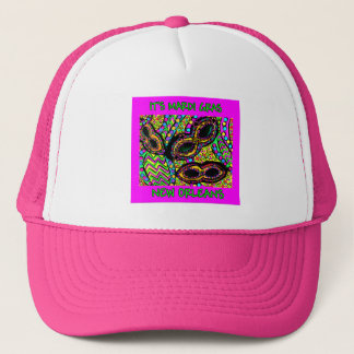 IT'S MARDI GRAS NEW ORLEANS TRUCKER HAT