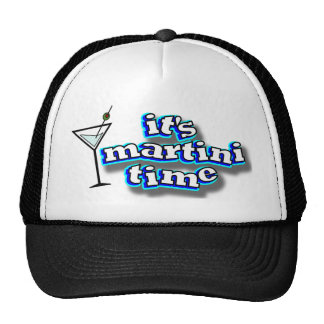 It's Martini time Mesh Hats