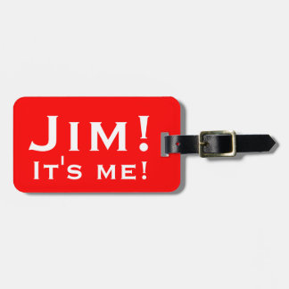 It's me! Personalised Luggage tags. Luggage Tag