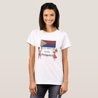 It's more FUN in the Philippines - Dancing Theme T-Shirt