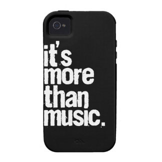 It's More Than Music Case-Mate iPhone 4 Covers