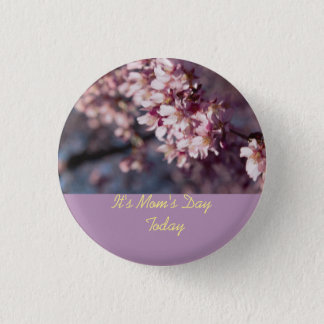 It's Mum's Day Today Cherry Blossom Branch Pin