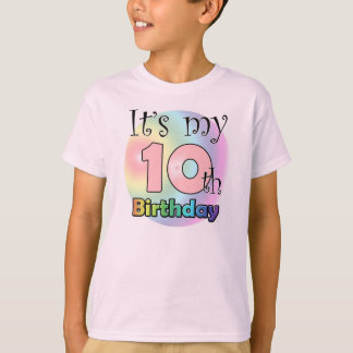 It's my 10th Birthday (girl) T Shirts