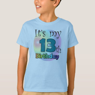 It's my 13th Birthday T-Shirt