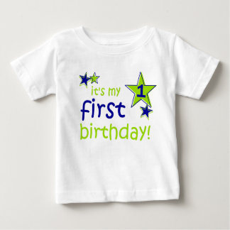 It's my 1 first birthday infant t-shirt