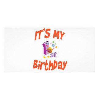 IT'S MY 1ST BIRTHDAY PHOTO CARDS