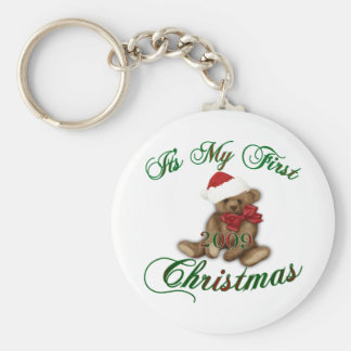 Its My 1st Christmas Key Chains