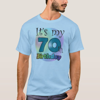 It's my 70th Birthday (Blue) T-Shirt