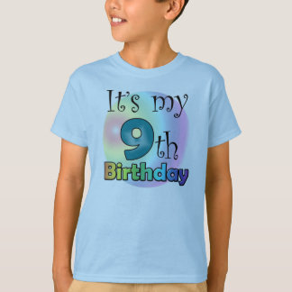 It's my 9th Birthday T-Shirt