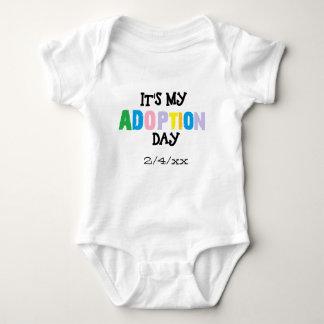 Its my adoption day by ozias baby bodysuit
