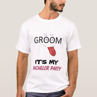 IT'S MY BACHELOR PARTY T-shirt