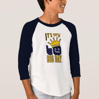 It's My BIG DAY Kids' 3/4 Sleeve Raglan T-Shirt