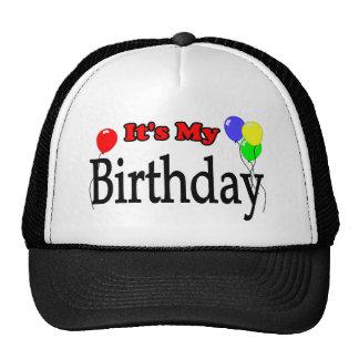 It's My Birthday Balloons Birthday Hat