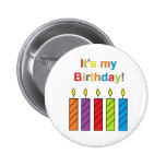 """It's My Birthday!"" Button"