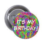 It's My Birthday! Buttons