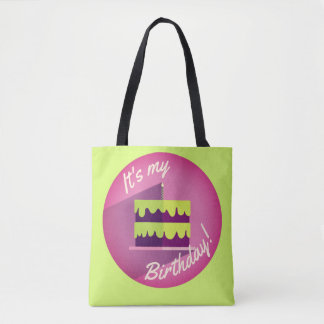 It's My Birthday Cake Bag by Aleta