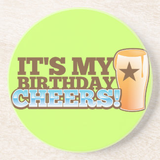 It's My Birthday CHEERS! beers! Coasters