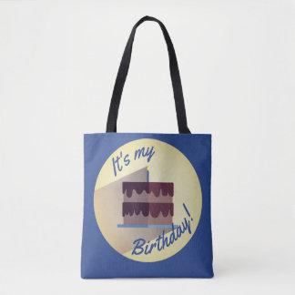 It's My Birthday Chocolate Cake Bag by Aleta