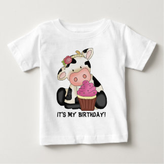 It's My Birthday Cow T-shirt