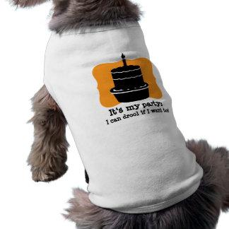 Its my Birthday Dog Funny Shirt