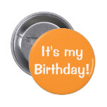 It's my Birthday! Pin