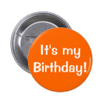It's my Birthday! Pins