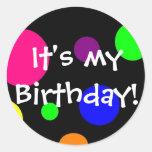 It's my birthday! stickers