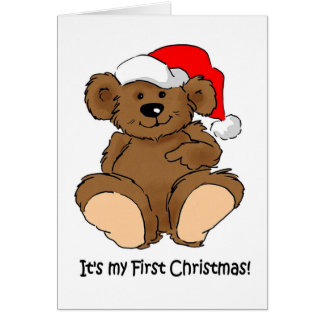 It's my First Christmas Greeting Card