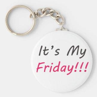 It's My Friday Key Ring
