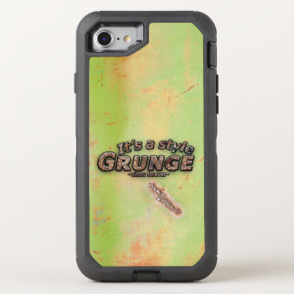 It's My Style GRUNGE Rusty Letters OtterBox Defender iPhone 8/7 Case
